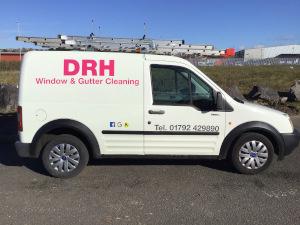 DRH Window & Gutter Cleaning Logo