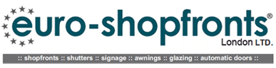 Aluminium Shop fronts London | EuroShopFronts Logo